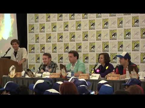Gravity Falls 2013 Comic Con Panel [Complete Version]