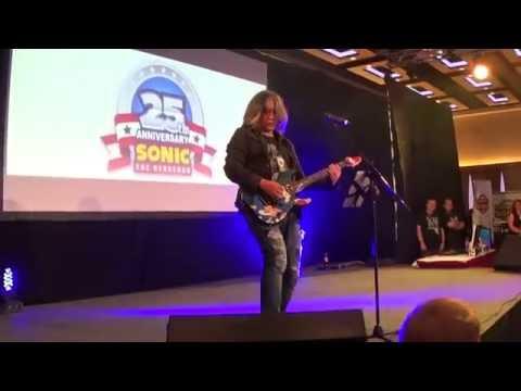 Jun Senoue Peforming at Summer of Sonic 2016!!!