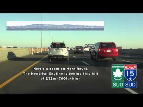 Autoroute 15, St-Jerome to Montreal, Quebec
