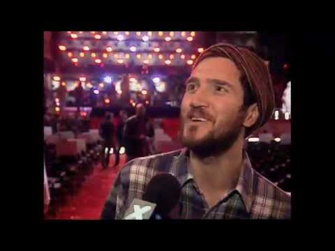 Red Hot Chili Peppers Grammy Rehearsal / John Frusciante Interview