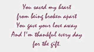 The Gift w/ Lyrics.. by: Martina McBride