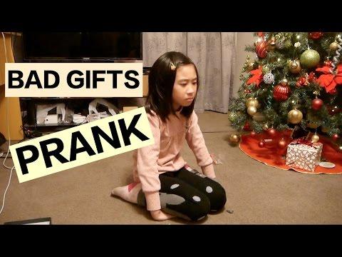 Bad Christmas presents PRANK Dec 2015
