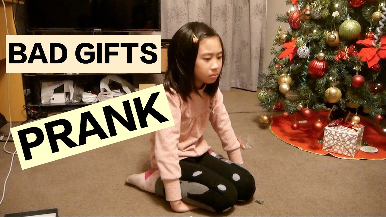 Bad Christmas presents PRANK Dec 2015 - YouTube