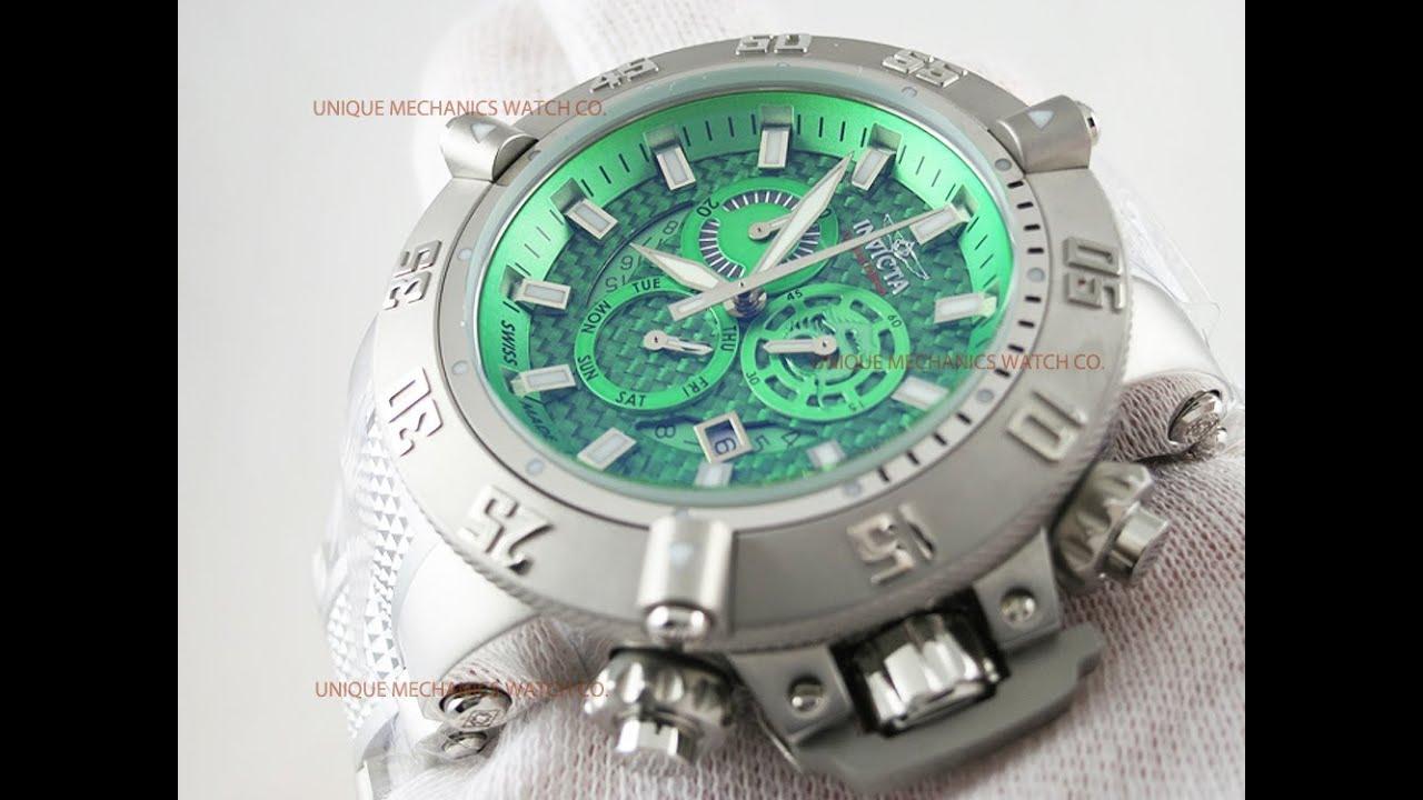 2ee7bdb57 Invicta 6690 Subaqua Noma III Chronograph Men's Watch - YouTube