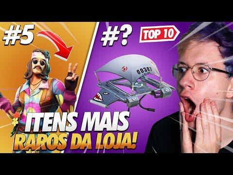 TOP 10 ITENS