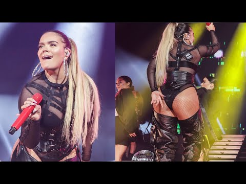 KAROL G canta TUSA en Concierto de Anuel AA   Emmanuel World Tour Miami 2019.