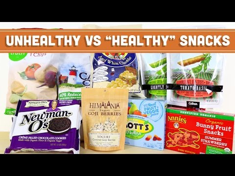"Unhealthy VS ""Healthy"" Snack Foods - Mind Over Munch"