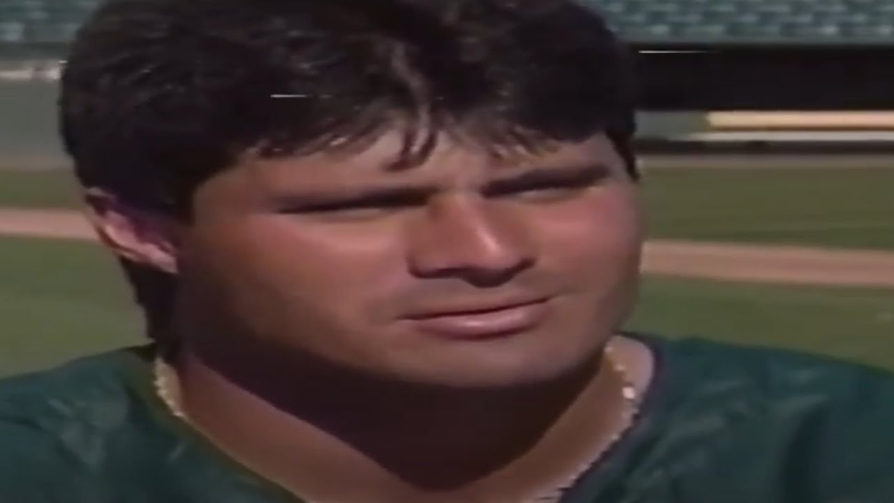 Jose Canseco Is The Most Interesting Athlete Ever