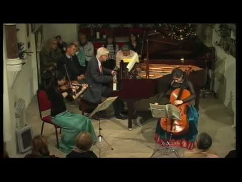 The Grier Trio play Ravel Piano Trio