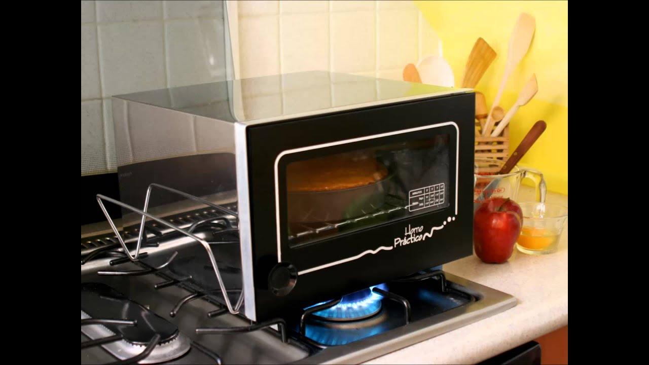 Horno pr ctico hornea sobre la flama de su estufa youtube - Precio del queroseno para estufas ...