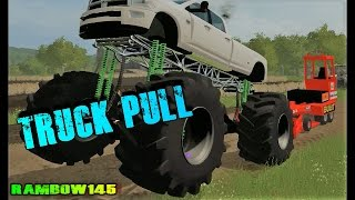 Farming simulator    Tractor Pull!