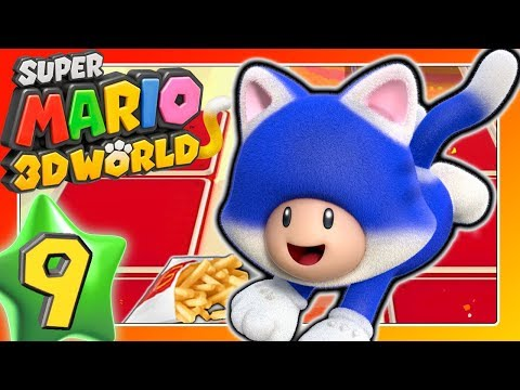 Aus Mc Donald's Müll klauen? 🐱 SUPER MARIO 3D WORLD Part 9