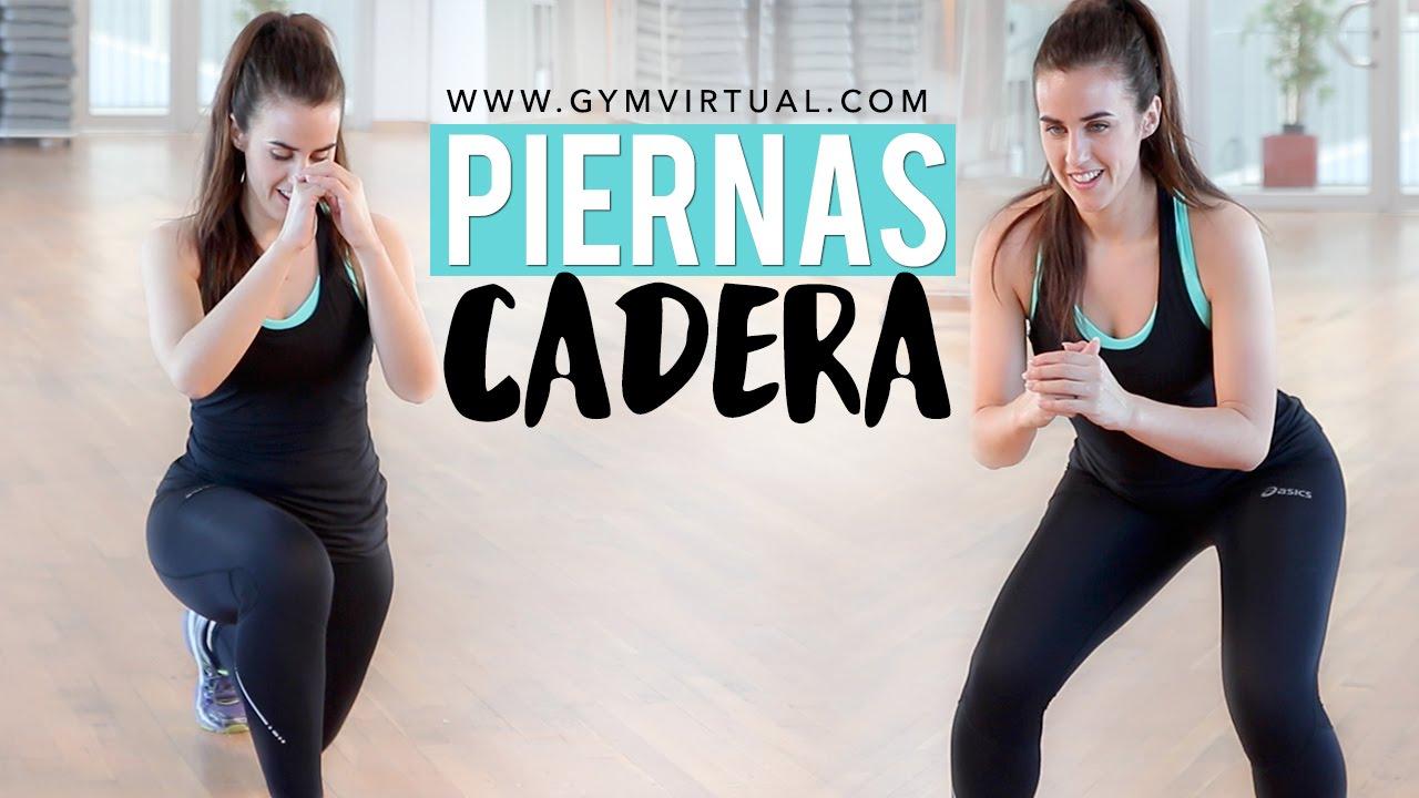 Ejercicios para adelgazar piernas gym virtual