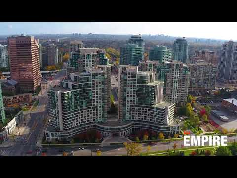 The Continental Condos in Toronto - Drone Footage