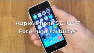 iPhone 5 5C 5S iOS 7 Anleitung: Fotos und Farbfilter