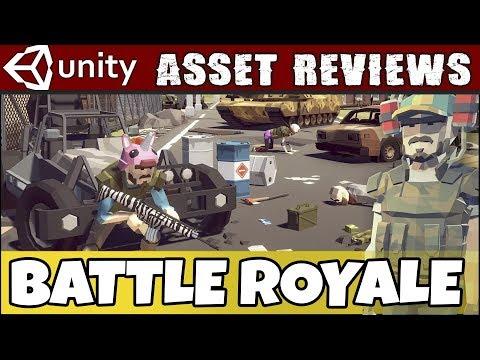 Unity Asset Reviews - Synty Studios Battle Royale Pack - YouTube