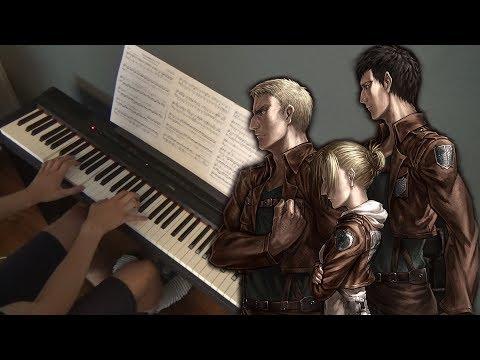 YouSeeBIGGIRL/T:T - Shingeki no Kyojin (Attack on Titan) S2 OST Piano Cover | Sheet Music & Midi