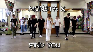MONSTA X - FIND YOU   Dance Tutorial Русский Туториал