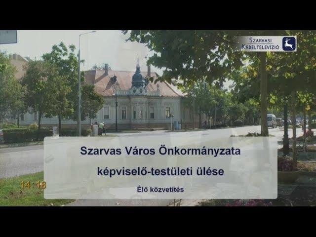 Szarvas Város Önkormányzatának képviselő-testületi ülése (2019. 01. 24.)