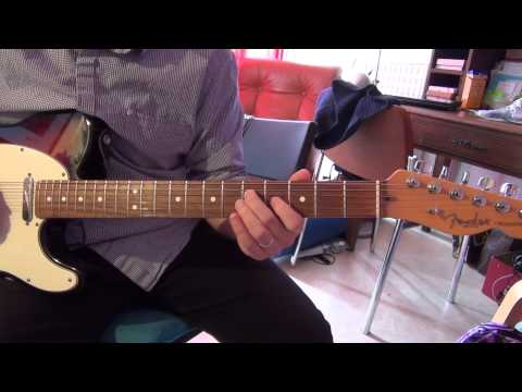 How to play intro  Guitar : Close to my fire  by Joe Bonamassa