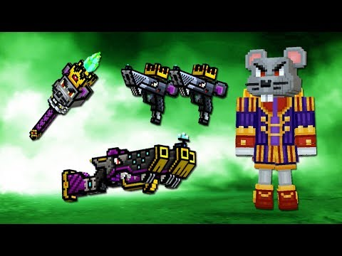 Pixel Gun 3D - Набор Мышиного Короля 🐭 MOUSE KING SET (449 серия)