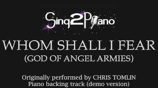 Whom Shall I Fear (Piano Backing Track) Chris Tomlin