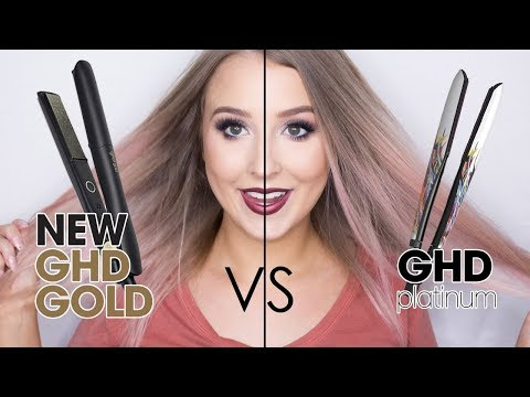 What is the best hair straightener? ghd Gold Styler VS ghd Platinum