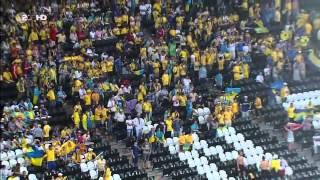 Ukraine-Frankreich EM 2012 Regencaos und Spielabbruch Reportage Deutsch Teil 1