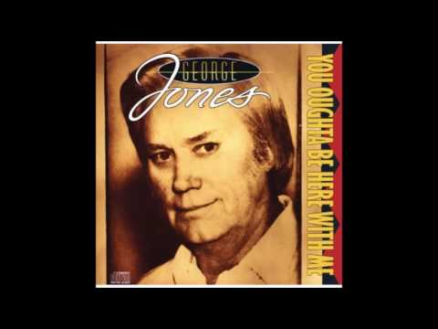 George Jones -You Oughta Be Here With Me Album CD