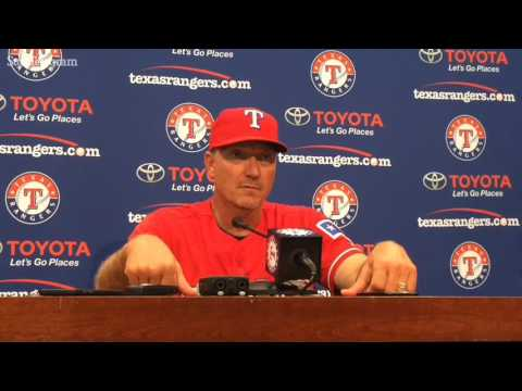 Jeff Banister discusses how Rangers can rebound