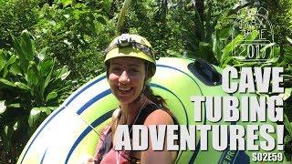 San Ignacio, Belize | Exploring caves in Belize! | Central America Travel Vlog E59