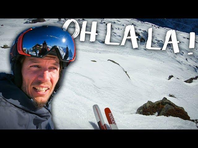 RISQUE pas MAXIMUM - WINTERACTIVITY ep40 - Ski freeride