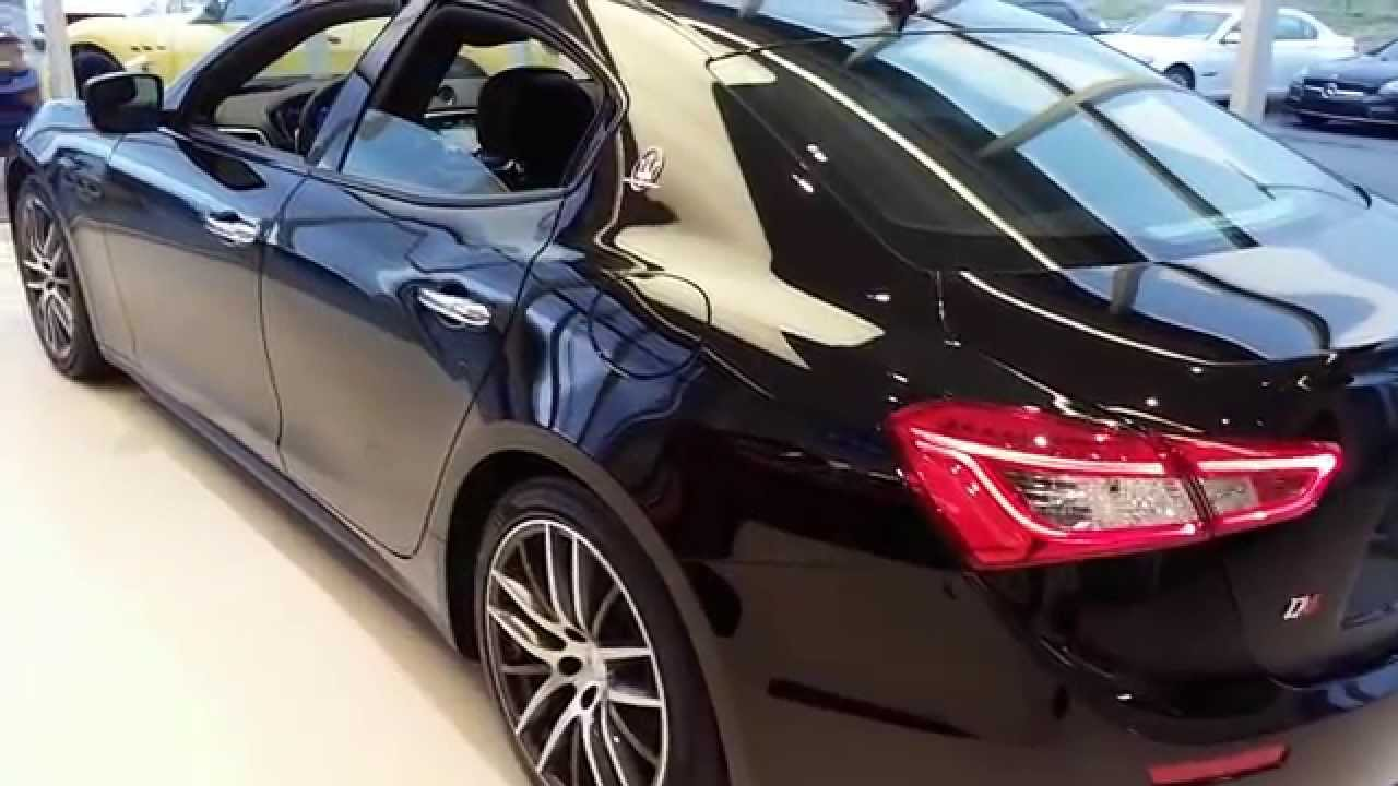 2015 blacked out maserati ghibli walk around amp changes