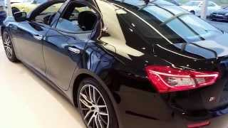 2015 Blacked Out Maserati Ghibli walk around & changes