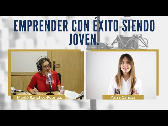 Emprender siendo joven junto a Amazon o El Corte Inglés | ENTREVISTA a Yaiza Canosa, CEO de GOI.