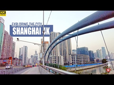 Explore Downtown Shanghai | Shanghai Alleys | Railway Station | 4K | 上海 | 火车站