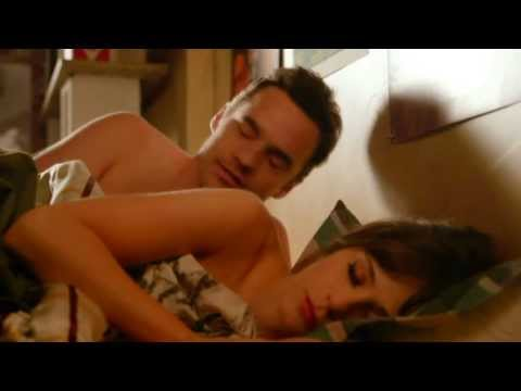 Jess & Nick shoulder KISS the next morning New Girl 2x24 SLOW MOTION Lucius -- Until We Get There thumbnail