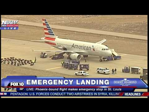 SECURITY THREAT: Phoenix-Bound American Airlines Flight Makes EMERGENCY LANDING in St. Louis (FNN)