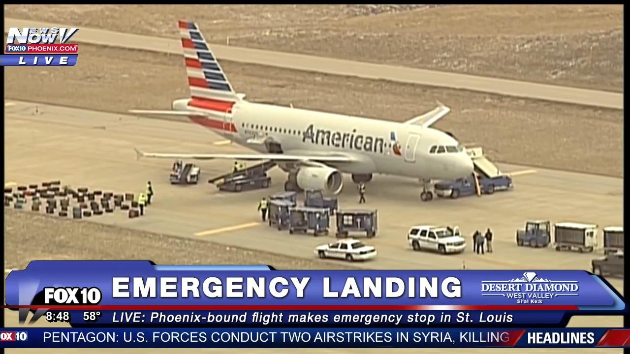 Security Threat Phoenix Bound American Airlines Flight