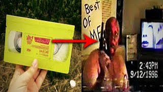 Video Top 15 Mysterious REAL Found Footage Tapes download MP3, 3GP, MP4, WEBM, AVI, FLV Juni 2018