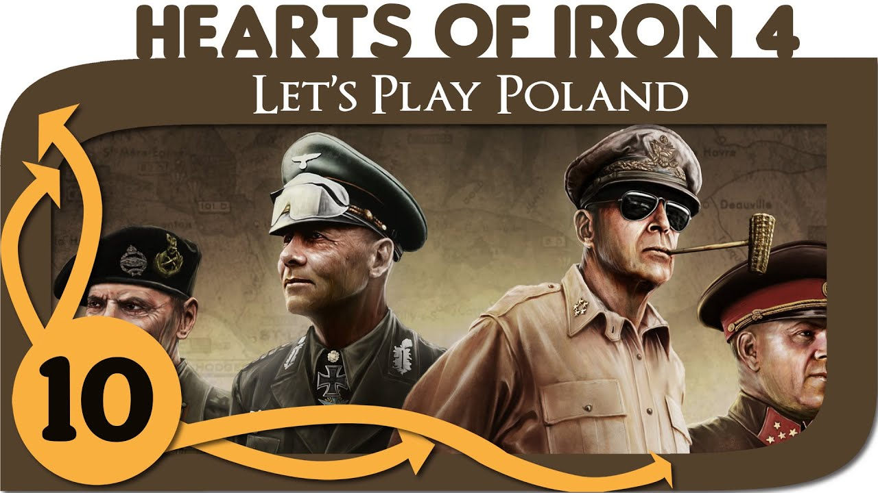 Hearts of Iron 4 - Let's Play Poland - Ep  10 - HoI4 Gameplay