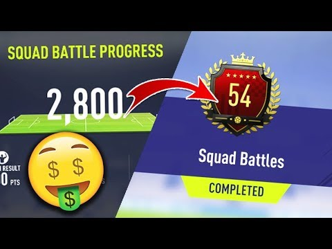 HOW TO GET TOP 100!!🤑 - FIFA 18 ULTIMATE TEAM SQUAD BATTLES