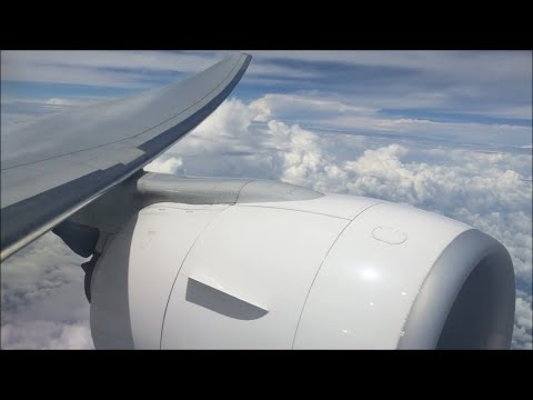 Flight | AF165 | Bangkok - Paris | Awesome GE Sound