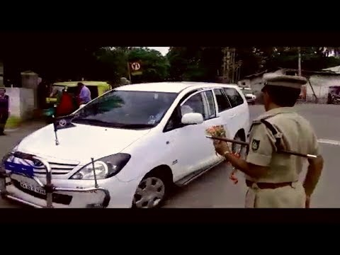 senior IPS officer entry scene (additional CP) Bengalore inspirational video for ips aspires