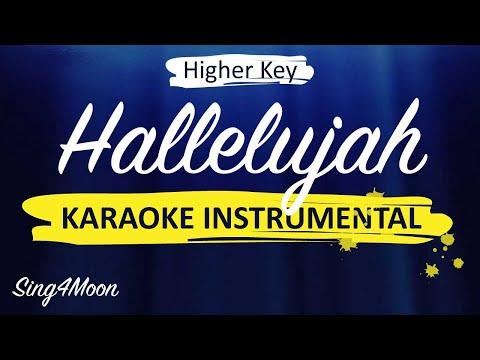 Hallelujah – Alexandra Burke (Piano Karaoke Instrumental) Higher Key