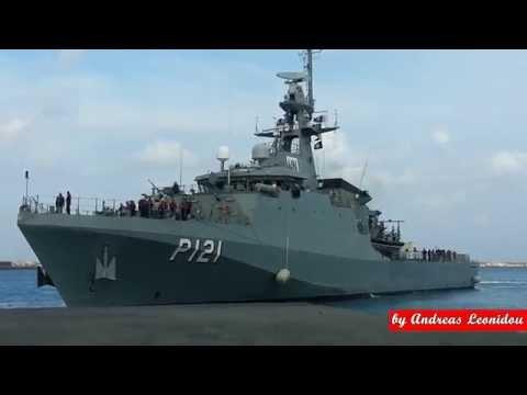 Brazil Navy - BRS APA ( Patrol Ship) in Limassol Cyprus