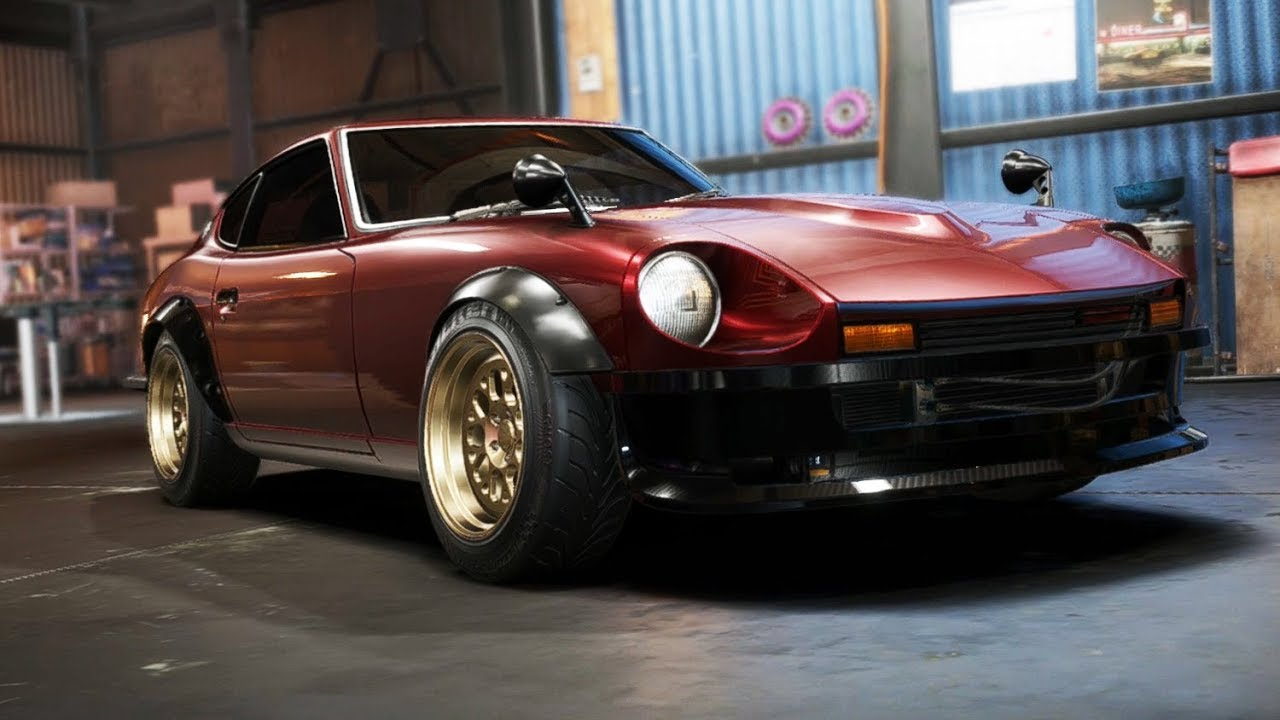 need for speed payback nissan 240z build customization youtube