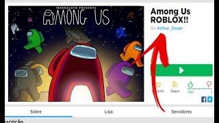 AMONG US DENTRO DO ROBLOX? 🤫🚫