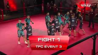 Fight 1 of the TFC Event 3 Barbarians FT St  Petersburg, Russia vs HFA Gdynia, Poland online video c