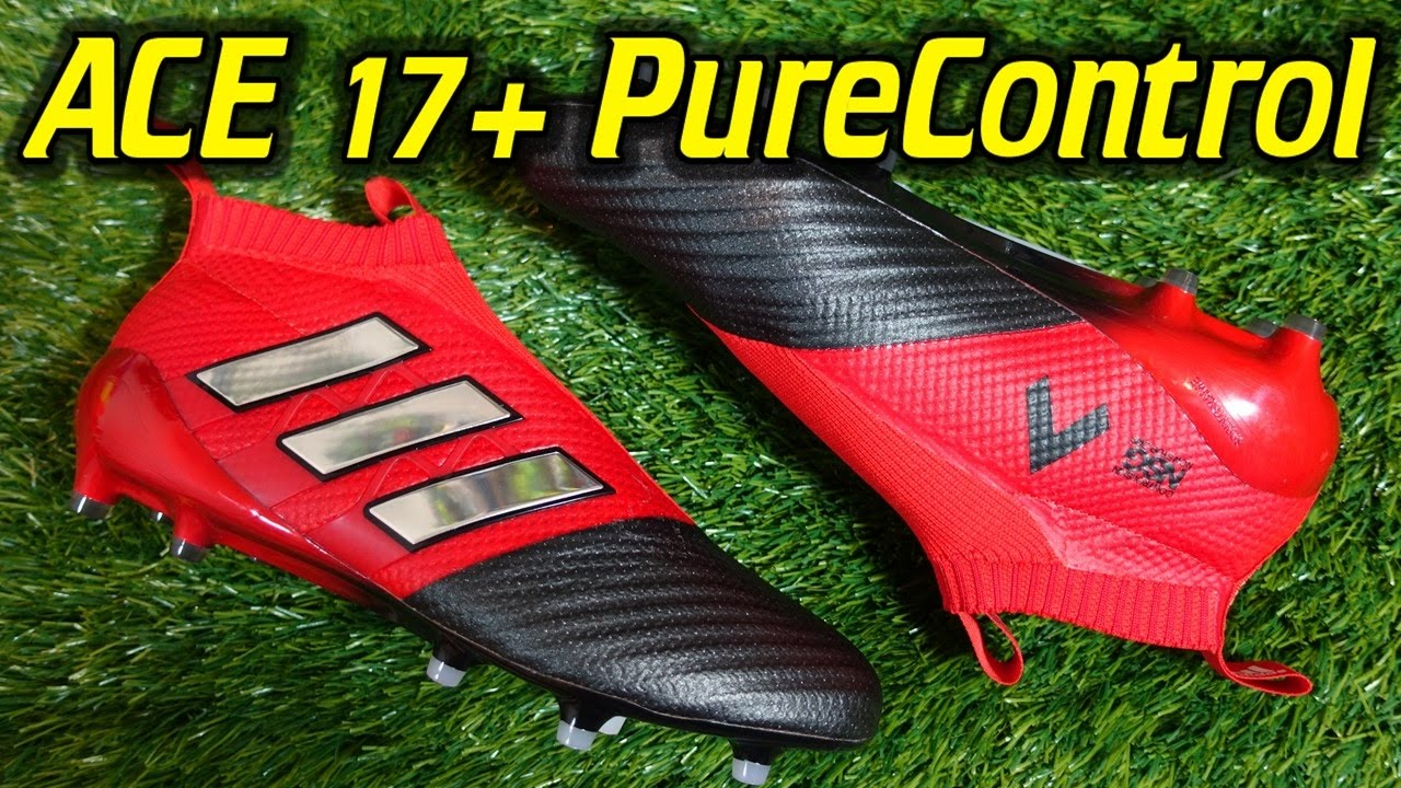 ed4ee4679d2 Adidas ACE 17+ PURECONTROL (Red Limit Pack) - Review + On Feet - YouTube